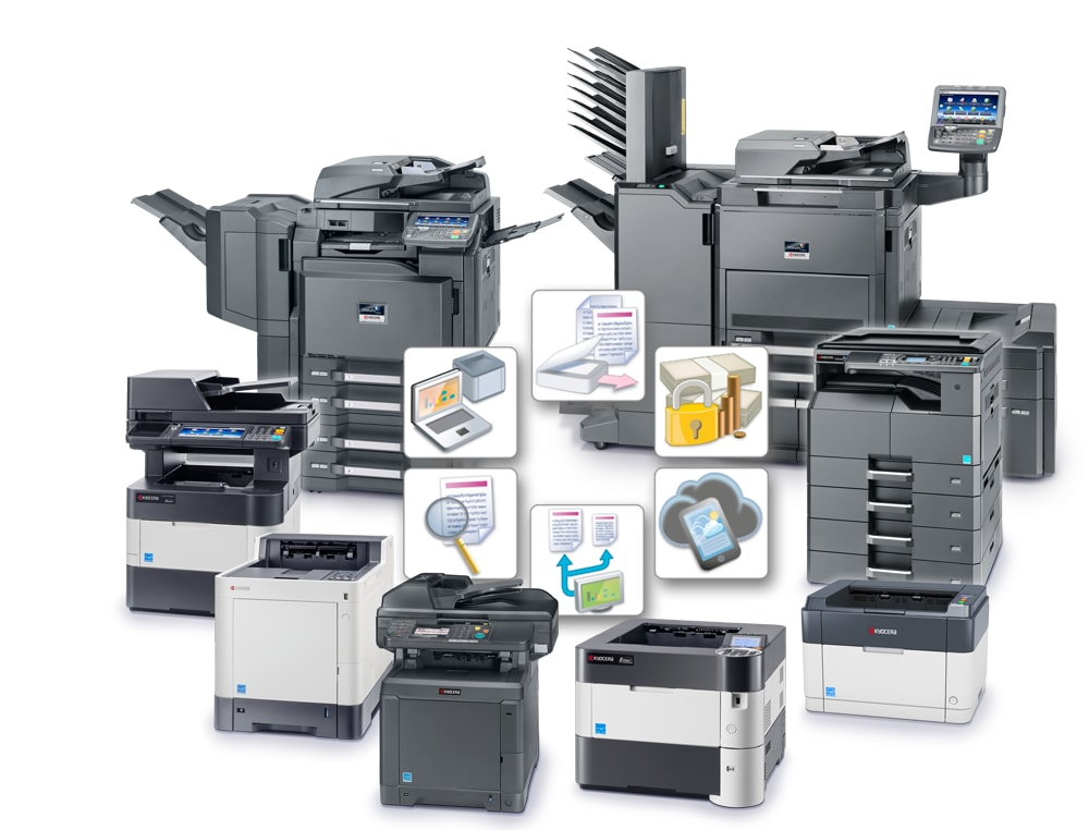 many types of laser prints